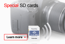 Wireless SD Cards